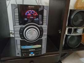 Equipo de sonido Sony USB excelente estado