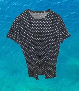 Camiseta Vintage con Barcos (TENNIS)