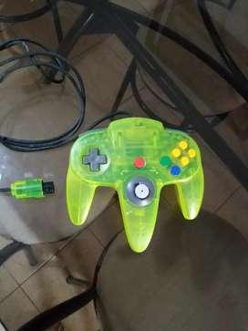 Nintendo 64 control palanca snes super