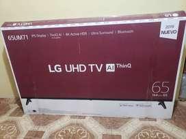 Televisor LG 65' pulgadas 2019