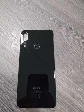 Tapa y lector de huellas Xiaomi note 7 Original