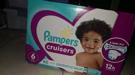 PAMPERS TALLA 6