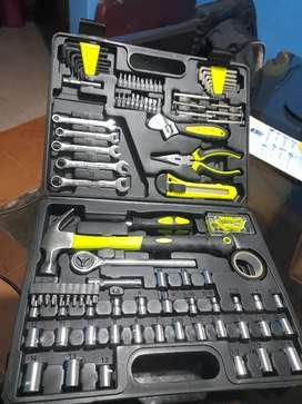 Kit de herramientas manuales 180 piezas