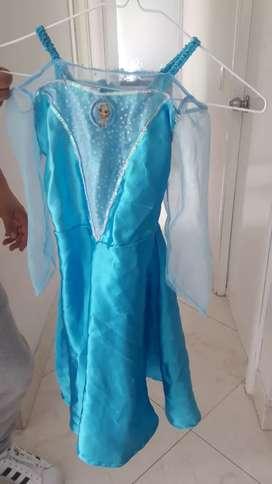 Disfraz Elsa frozen talla 4