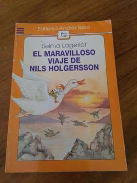 EL MARAVILLOSO VIAJE DE NILS HOLGERSSON . SELMA LAGERLOF . libro fantastico