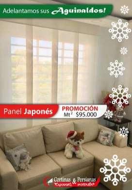 PROMOCIÓN PANEL JAPONES