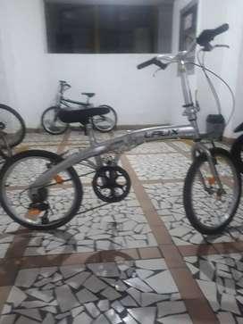 Vendo bicicleta replegable laux cambios chimano