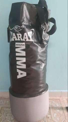 Saco de boxeo MMA (Caray + soporte metálico Caray: 120 kg)