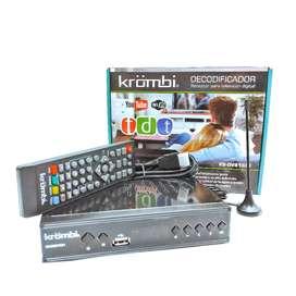 Decodificador TDT 2 Receptor Tv Digital