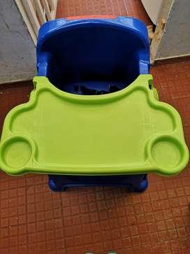 Combo paseador reclinable - silla comedor rimax