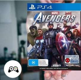 AVENGER PARA PS4 JUEFO FISICO NUEVO SELLADO