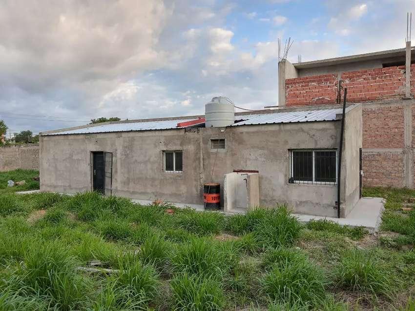 Casa en construcción en terreno de 17x42 0