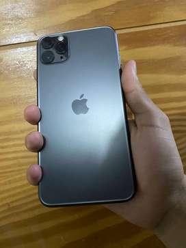 vendo iphone 11 pro max gris espacial