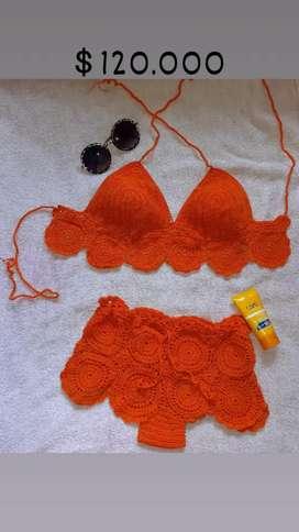 Vestidos de baño Crochet, Lua Creaciones, talla L