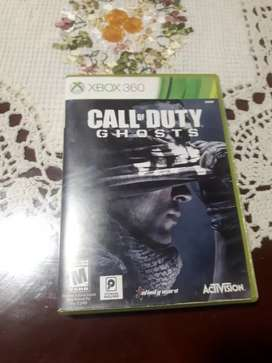 VENDO JUEGO ORIGINAL : CALL OF DUTY GHOST