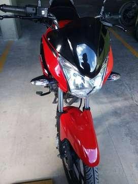 VENDO MOTO DISCOVER 125 ST-R-BS MODELO 2020 ROJO-NEGRO CON 400 KM