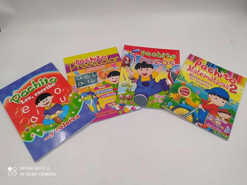 Libros set x 4 infantiles aprendizaje