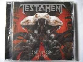 testament brotherhood of the snake cd nuevo sellado
