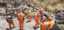 Explotación perforación minas subterraneo tajo abierto