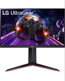 LG 24GN650-B Ultragear Full HD (1920 x 1080) PS Display Gaming Monitor con 144Hz Frecuencia de actualización con 1 ms (