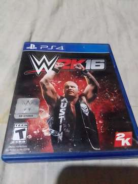 SE VENDE WWE 2K16 $15 (NEGOCIABLE)