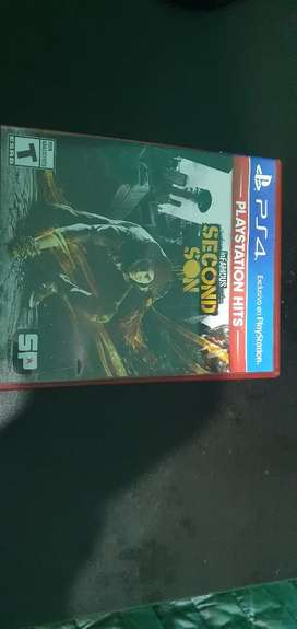 InFamous Second Son para ps4 usado