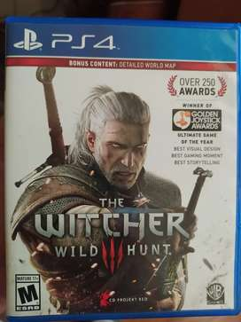 The witcher III Wild hunt PS4