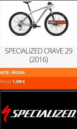 Bicicleta ESPCIALIZED