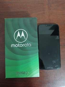 Moto g7 power con pantalla intacta