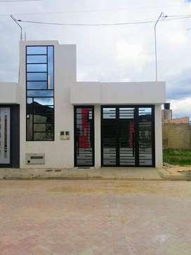 Acogedora casa para estrenar en Simijaca, Cundinamarca