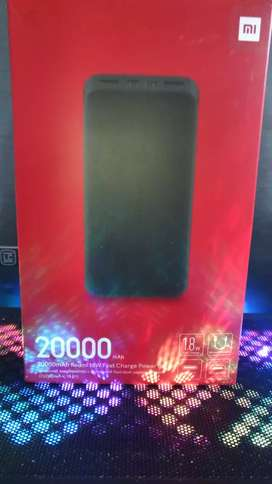 Power Bank Xiaomi De 20.000 mah Caja Sellada