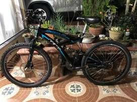 Bicicleta GW caronte todo terreno 10/10