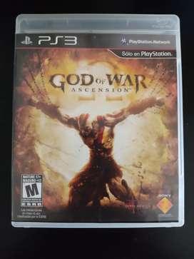 Good of war ascension para PS3