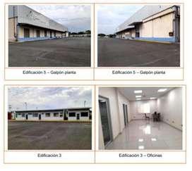 Galpones y oficinas para industria de alto impacto