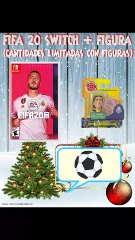 FIFA20 Nintendo + Figura