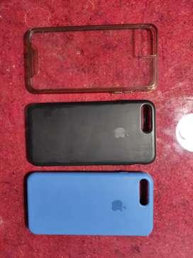 Estuches para iPhone 7 plus y iPhone 6 plus ECONÓMICOS USADOS