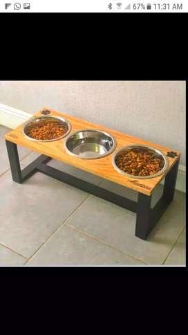 Tarina para comida de perro