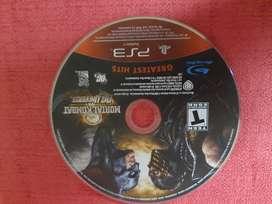 JUEGO PS3 VENDO MORTAL KOMBAT VS DC UNIVERSE ORIGINAL