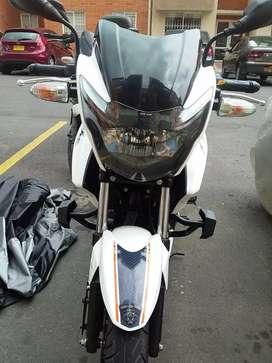 ganga se vende hermosa moto tvs 160 como nueva