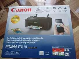 Impresora canon pixma E 3110
