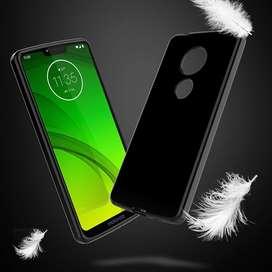 Funda TPU Negro o transparente Cristal Motorola G7 Play Power Plus
