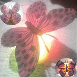 Mariposas Destello Led