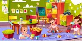 Niñera  de niños   y niñas