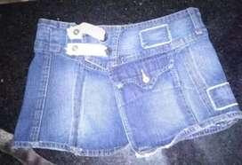 Vendo polleras de jeans