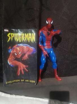 Figura Spiderman marvel con El Comic