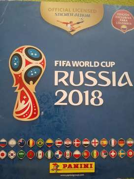 Álbum Panini Fifa Copa Mundial Rusia 2018