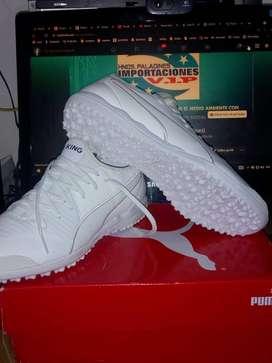 """PUMA King Pro Tt Soccer Shoe size 8 men """"cancha sintetica"""""""