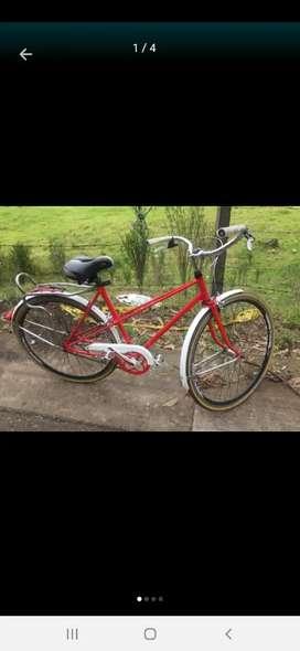 Bicicleta antigua es de los años 60