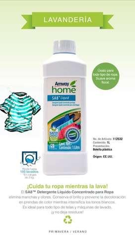 Deterguente liquido para ropa