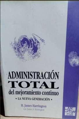 Administración total del mejoramiento continuo / H. James Harrington